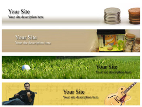 Fourth Additional product image for - 20 Niche Website Headers