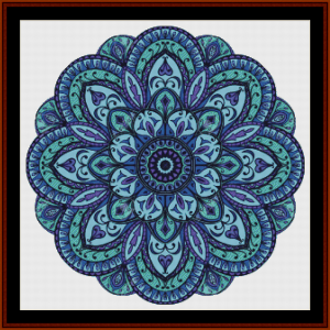 Mandala 10 cross stitch pattern by Cross Stitch Collectibles | Crafting | Cross-Stitch | Other
