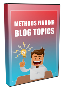 21 methods for finding blog topics