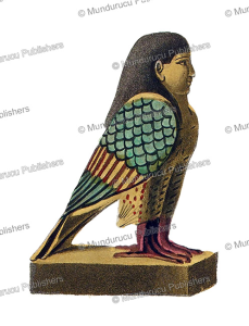 Wooden statue of a bird with human head in which the personality of the deceased resides, Egypt, Fre´de´ric Cailliaud, 1821 | Photos and Images | Travel