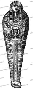 Egyptian royal Sarcophagus, Athanasii Kircheri, 1678 | Photos and Images | Travel