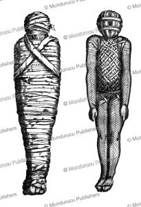 egyptian mummy, athanasii kircheri, 1678