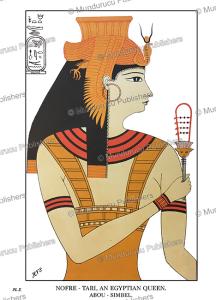 nofre tari (nefertari), an egyptian queen of the 18th dynasty, henry villiers stuart, 1879