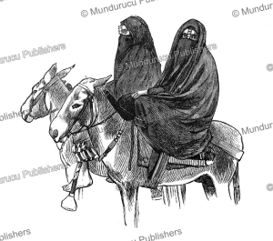 Fellah (peasant) women riding, Egypt, 1882 | Photos and Images | Travel