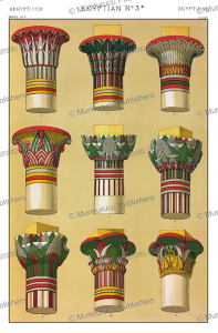 The Columns of Ancient Egyptian temples, Owen Jones, 1868 | Photos and Images | Travel