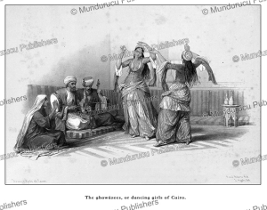 The Ghawa´zees, or dancing girls of Cairo, David Roberts, 1846 | Photos and Images | Travel