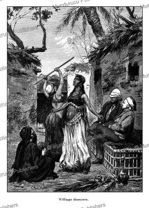 Village dancers, Egypt, C. Rudolf Huber, 1878 | Photos and Images | Travel