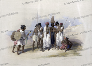 Group of Nubians at Wady Kardassy, David Roberts, 1846 | Photos and Images | Travel