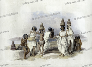 Nubian women at Kortie, on the Nile, Egypt, David Roberts, 1846 | Photos and Images | Travel