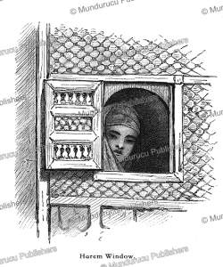 An harem window in Cairo, Egypt, F.C. Welsch, 1878 | Photos and Images | Travel