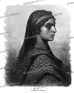 A Coptic woman, Egypt, Carl Werner, 1878 | Photos and Images | Travel