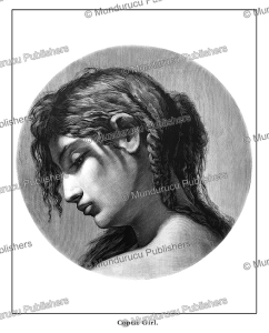Coptic girl, Egypt, Gustav Richter, 1878   Photos and Images   Travel