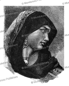 Coptic woman from Egypt, 1882 | Photos and Images | Travel