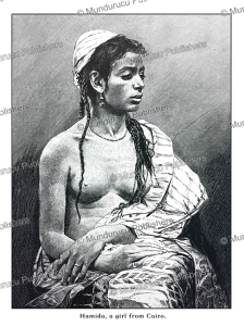 Hamida, a girl from Cairo, Egypt, Wilhelm Hecht, 1878 | Photos and Images | Travel