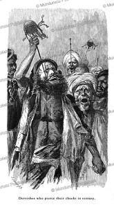 Dervishes in ecstasy pierce their cheeks, Egypt, Wilhelm Gentz, 1878 | Photos and Images | Travel