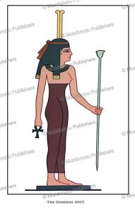 Anit, an ancient Egyptian goddess of war, Wallis Budge, 1904 | Photos and Images | Travel