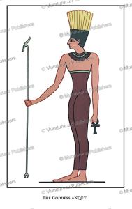Anuket, the ancient Egyptian goddess of the Nile, Wallis Budge, 1904 | Photos and Images | Travel
