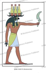 Horus as Heru Khuti, an ancient Egyptian god of light, Wallis Budge, 1904   Photos and Images   Travel