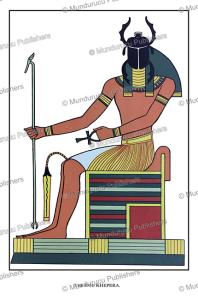 Khepri, the ancient Egyptian god of the rising sun, Wallis Budge, 1904 | Photos and Images | Travel