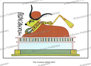 mehet-weret, an ancient egyptian primeval cow-goddess who gave birth to the sun god, wallis budge, 1904