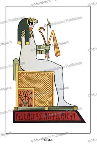 seker, the ancient egyptian falcon god, linked to osiris, wallis budge, 1904
