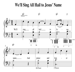 We'll Sing All Hail to Jesus' Name | Music | Gospel and Spiritual