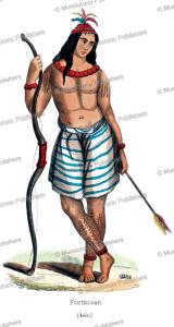 man from formosa (taiwan), francois pannemaker, 1844