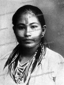 wife of a headhunter of formosa (taiwan), walther beyer, 1929