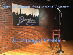 the broadway comedy club presents an evening of comedy