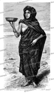 a mauri (moor or berber) girl, j. girardet, 1888