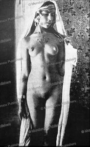 Berber girl with chest tattoo from Tunisia, 1910   Photos and Images   Travel