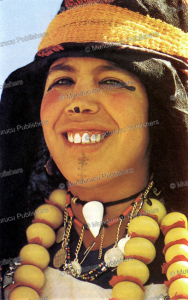 A Berber woman with chin tattoo | Photos and Images | Travel