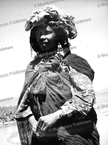 berber woman from zagora, morocco, 1959