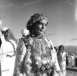 Woman with chin tattoo from the Middle Atlas, Morocco, 1954 | Photos and Images | Travel