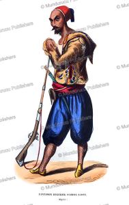 Regular infantryman of emir Abdelkader, Algeria, Francois Pannemaker, 1844 | Photos and Images | Travel