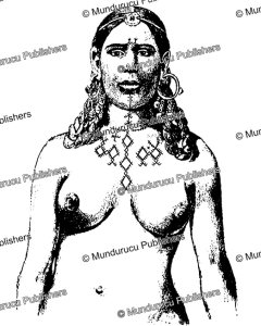 chest tattoo patterns of braber berber woman, j. herber, 1949