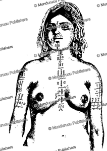 Chest, arm and neck tattoo patterns for Shawiya or Chaouia Berber women, J. Herber, 1949 | Photos and Images | Travel