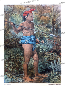 Chief of the Forest People, Borneo, Carl Bock, 1882 | Photos and Images | Travel