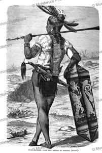 Dayak warrior of Borneo, Robert Brown, 1880 | Photos and Images | Travel