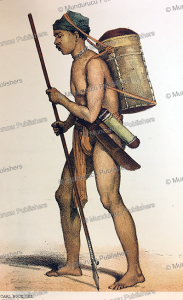 Orang-Boekit man of Amoentai, Borneo, Carl Bock, 1882 | Photos and Images | Travel