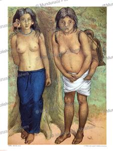 Young Dayak women, Borneo, Carl Bock, 1882 | Photos and Images | Travel