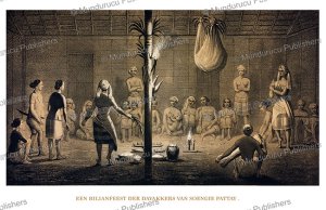 A Bilian-Dayak people feast, Borneo, C.A.L.M. Schwaner, 1854 | Photos and Images | Travel