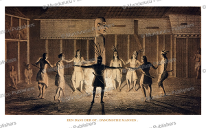 A dance of Ot Danum-Dayak men, Borneo, C.A.L.M. Schwaner, 1854 | Photos and Images | Travel