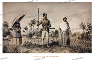 The dress of Banjar people of Borneo, C.A.L.M. Schwaner, 1854 | Photos and Images | Travel