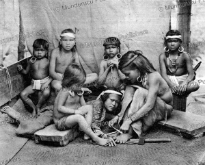 Tattooing of a Kayan girl, Borneo, 1920 | Photos and Images | Travel