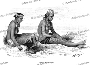 Tring-Dayak women, Borneo, G. Vuillier, 1894 | Photos and Images | Travel