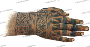 Tattooed hand of a high ranked Dayak woman, Borneo, Carl Bock, 1882 | Photos and Images | Travel