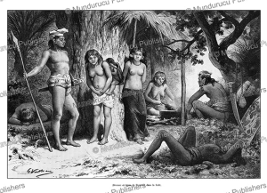 Dayak of the Punan tribe, Borneo, G. Vuillier, 1894 | Photos and Images | Travel