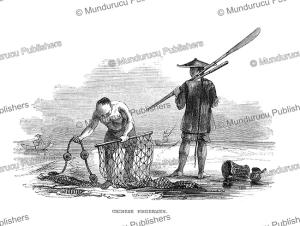 Chinese fishermen, Borneo, Frank S. Marryat, 18481 | Photos and Images | Travel