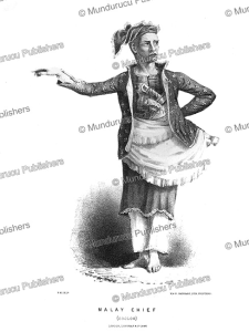 Malay chief of Sooloo (Sulu), Borneo, Frank S. Marryat, 1848 | Photos and Images | Travel